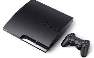 Usado Console Playstation 3 Slim 320Gb + Controle - Sony