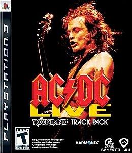 Usado Jogo PS3 Rock Band ACDC Live - HARMONIX