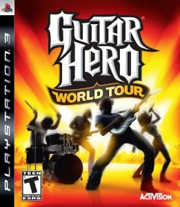 Usado Jogo PS3 Guitar Hero World Tour - Activision