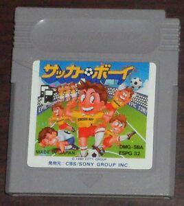 Usado Jogo Nintendo Game Boy SBA Soccer Boy