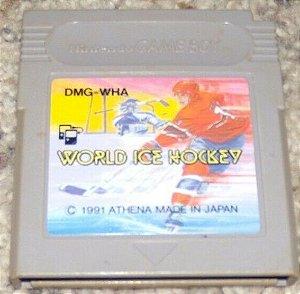 Usado Jogo Game Boy World Ice Hockey