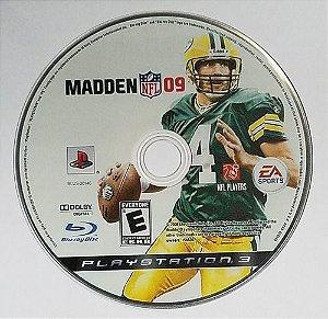 Usado Jogo PS3 Madden NFL 09 - somente disco - EA Sports