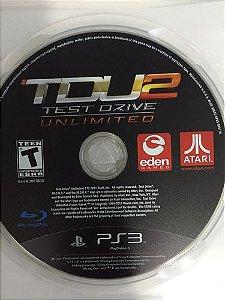 Jogo PS3 Test Drive Unlimited 2 - somente disco- Atari