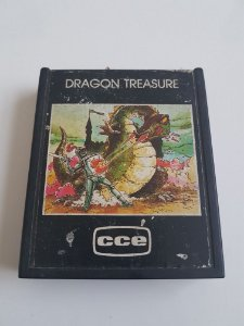 Jogo Atari Dragon Treasure - CCE