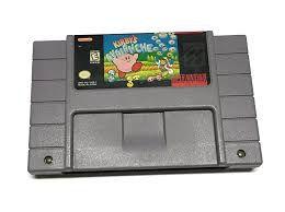Usado Jogo Super Nintendo Kirby's Avalanche - Nintendo
