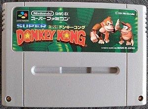 Usado Jogo Super Famicom Super Donkey Kong SHVC-8X - Nintendo