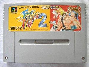 Usado Jogo Super Famicom Final Fight 2 SHVC-F2 - Capcom