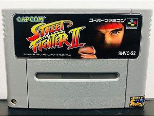 Usado Jogo Super Famicom Street Fighter 2 SHVC-S2 - Capcom