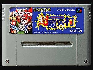 Usado Jogo Super Famicom Chou Makai Mura ( Super Ghouls'n Ghosts ) - Capcom