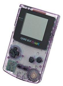 Usado Console Nintendo Game Boy Color Roxo Transparente - Nintendo