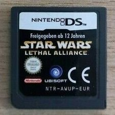 Usado Jogo Nintendo DS Star Wars Lethal Alliance (loose) - Ubisoft