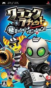 Usado Jogo Psp Clank & Ratchet: Maru Hi Mission * Ignition Japonês - Sony