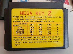 Cartucho Super Mega-key 2  Mega Drive - Sega