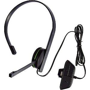 Headset Fone de ouvido (Para XBOX One) Chat Com Fio - Microsoft