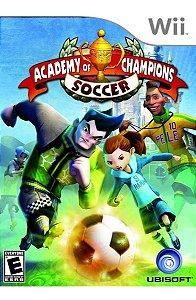 Usado Jogo Nintendo Wii Academy of Champions Soccer - Ubisoft