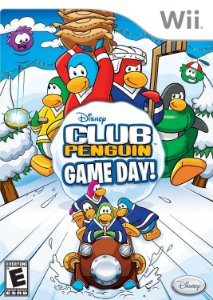 Usado Jogo Nintendo Wii Club Penguin: Game Day - Disney