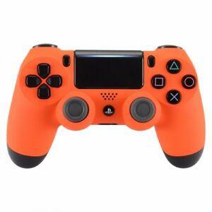 Usado Controle Playstation 4 Laranja Dualshock 4 - Sony