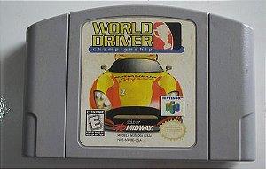 Usado Jogo Nintendo 64 World Driver Championship - Midway