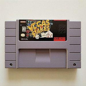 Usado Jogo Super Nintendo Vegas Stakes - Playtronic
