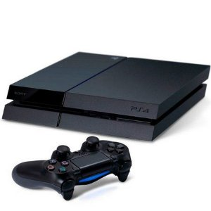 Usado Console Playstation 4 FAT PS4 500GB  c/01 Controle - Sony