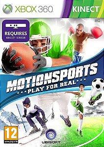 Usado Jogo Xbox 360 Kinect MotionSports Play For Real - Ubisoft