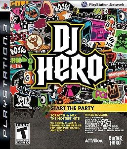 Usado Jogo PS3 Dj Hero - Activision