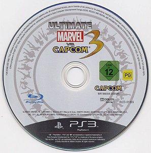 Usado Jogo PS3 Ultimate Marvel vs. Capcom 3 (somente o Jogo) - Capcom