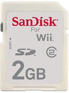 Usado Cartão De Memória 2GB para Nintendo Wii - Sandisk