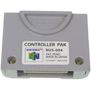Usado Controller Pak / Memory Card Nintendo 64 - Nintendo