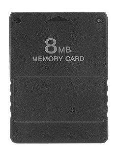 Usado Memory Card 8MB para Playstation 2 PS2 Diversos - Importado