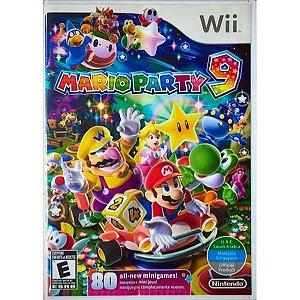 Usado Jogo Nintendo Wii Mario Party 9 - Nintendo