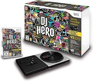 Usado Jogo Wii Dj Hero + Pickup - Activision