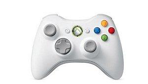 Controle Xbox 360 Branco - Microsoft