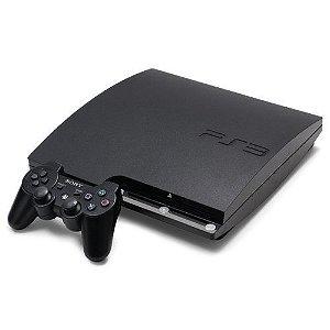 Usado Console Playstation 3 Slim PS3 160GB Destravado - Sony