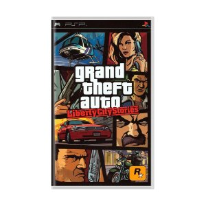 Usado Jogo PSP GTA Grand Theft Auto Liberty City Stories - Rockstar