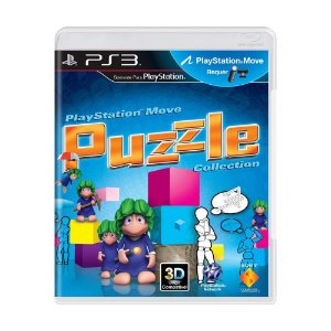 Usado Jogo PS3 Playstation Move Puzzle Collection - Sony