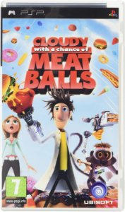 Usado Jogo PSP Cloudy with a chance of Meat Balls - Ubisoft