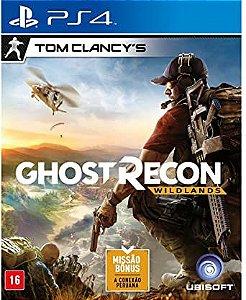 Jogo PS4 Tom Clancy's Ghost Recon: Wildlands - Ubisoft