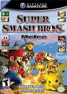Jogo Nintendo Game Cube Super Smash Bros Melee - Nintendo