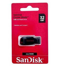 Pen Drive 32GB SanDisk Cruzer Blade - SanDisk