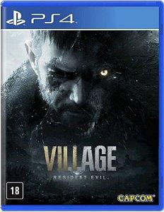 Jogo PS4 Resident Evil 8 Village - Capcom