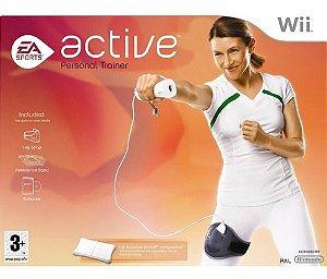 Usado Jogo Nintendo Wii Active Personal Trainer completo - EA