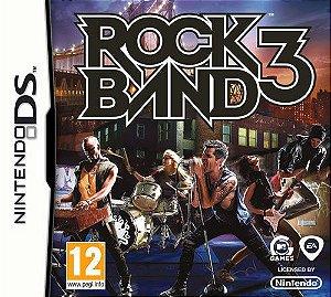 Usado Jogo Nintendo DS Rock Band 3 - Harmonix