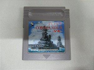 Usado Jogo Game Boy Fleet Commander VS Japones - ASCII