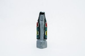 Nossa Senhora em miniatura de Pedra Sabão