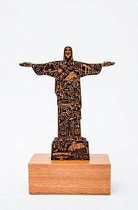 Escultura Cristo em Madeira