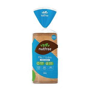 Pão 7 Grãos Zero Açúcar Sem Glúten 400g