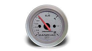 MANOVÁCUO 52MM MECÂNICO 2KG RACING CRONOMAC