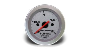 MANÔMETRO TURBO 52MM MECÂNICO 2KG RACING CRONOMAC