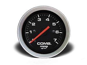 MANÔMETRO COMBUSTÍVEL 52MM MEC 7KG SPORT (155207TP) CRONOMAC